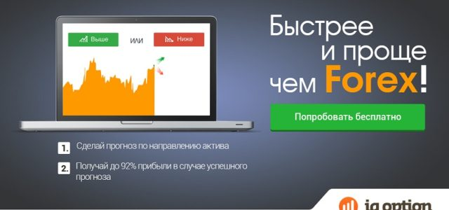 Брокер IQ Option — бинарные опционы IQoption.com