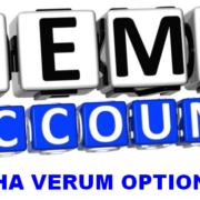 Как открыть демо-счет на Verum Option?