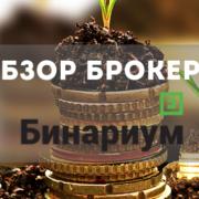Обзор Бинариум: вход на торговую платформу и минимальный депозит