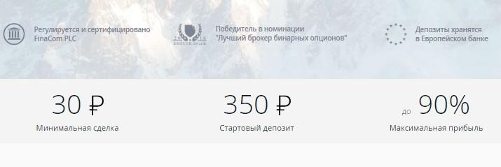 Бинарные опционы депозит 30 рублей биржа криптовалют advcash