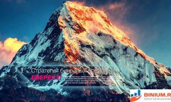 Стратегия Эверест для бинарных опционов. Разбираем рабочие индикаторы.