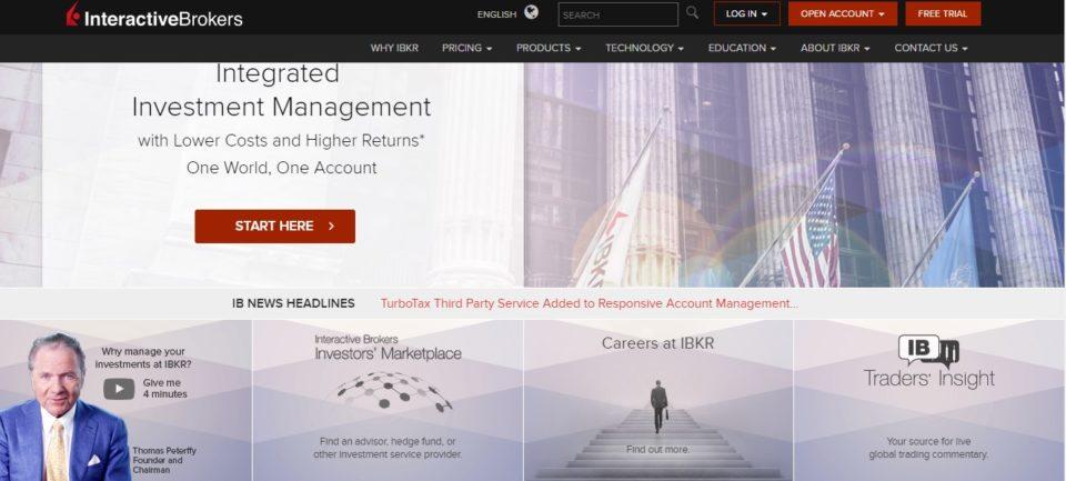 Interactive brokers форекс