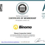 Binomo стал членом FinaCom