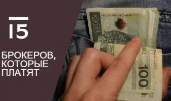 15 брокеров форекс, которые выводят деньги